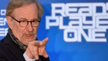 Steven Spielberg à l'avant-première de Ready Player One