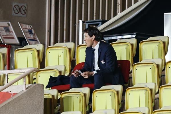Suspendu pour des propos contre Stéphanie Frappart, Rudi Garcia était en tribunes dimanche à Monaco