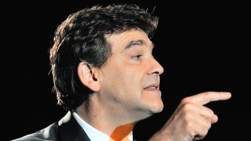 Arnaud Montebourg, nouveau ministre de l'Economie depuis le remaniement ministériel.