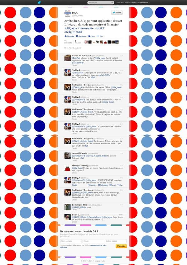 """Le tweet en question a bien sûr été """"capturé"""" par les internautes avant d'être supprimé."""