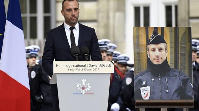 Etienne Cardilès avait livré un vibrant hommage à son compagnon lors de l'hommage national.