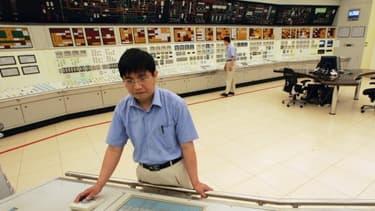 la Chine dispose d'un parc nucléaire de 15 réacteurs en exploitation, ici celui de Quinshan, et devraient en avoir 171 d'ici à 2030.