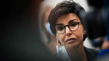 Rachida Dati, maire LR du VIIe arrondissement de Paris, le 29 août 2020 aux journées d'été de LR à La Baule.
