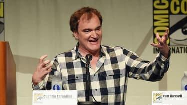 Quentin Tarantino au Comic-Con en juillet 2015