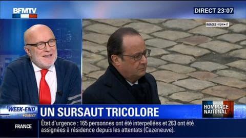 """Hommage national: Pourquoi François Hollande a-t-il invité les Français à """"pavoiser"""" de drapeaux tricolores leur domicile ?"""