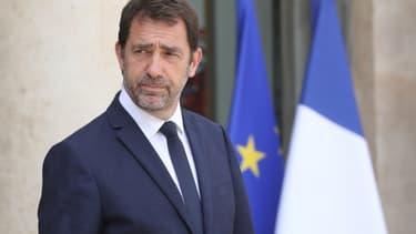 Le ministre de l'Intérieur Christophe Castaner le 19 juin à l'Élysée