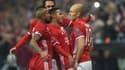Arjen Robben a bien lancé le Bayern contre Arsenal (5-1).