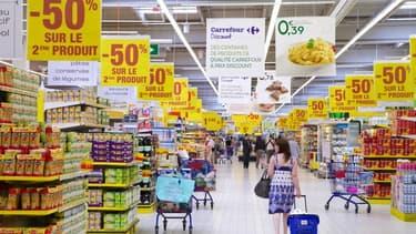 La consommation a reculé de 0,2% au deuxième trimestre 2012.