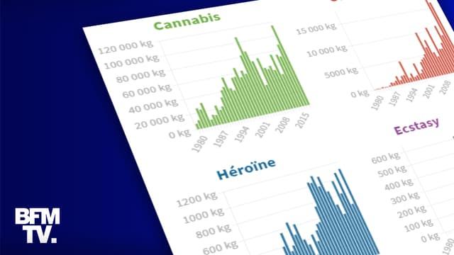 INFOGRAPHIE. Revenus, consommation, emplois... Les chiffres du trafic de drogues en France