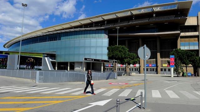 Le Camp Nou, à Barcelone