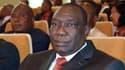 Le chef des rebelles centrafricains Michel Djotodia, le 17 janvier dernier lors d'une cérémonie officielle à Bangui.