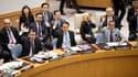 Le Conseil de sécurité des Nations unies a adopté samedi à l'unanimité une résolution autorisant le déploiement d'une première équipe d'observateurs non armés en Syrie, pour y veiller au respect de la trêve conclue jeudi matin. /Photo prise le 14 avril 20