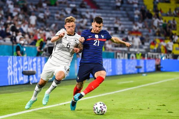 Lucas Hernandez contre l'Allemagne