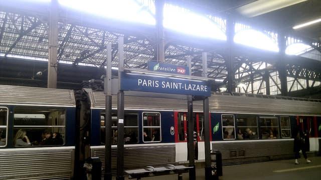 Le trafic est perturbé sur les lignes qui desservent Saint-Lazare.