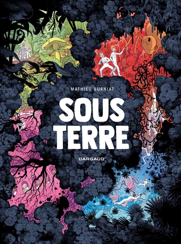 """Couverture de la BD """"Sous Terre"""""""