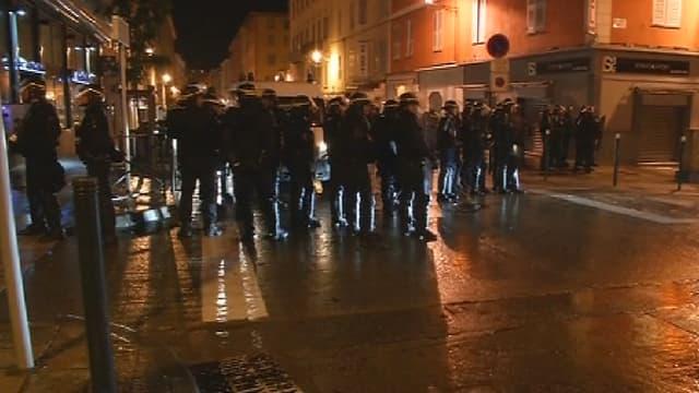 Les affrontements, mercredi soir, à Bastia.