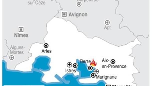 ÉVACUATIONS PRÉVENTIVES EN RAISON D'UN INCENDIE À BERRE