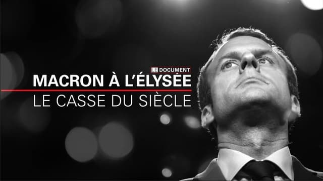 """""""Macron à l'Elysée, le casse du siècle"""" à découvrir sur BFMTV"""