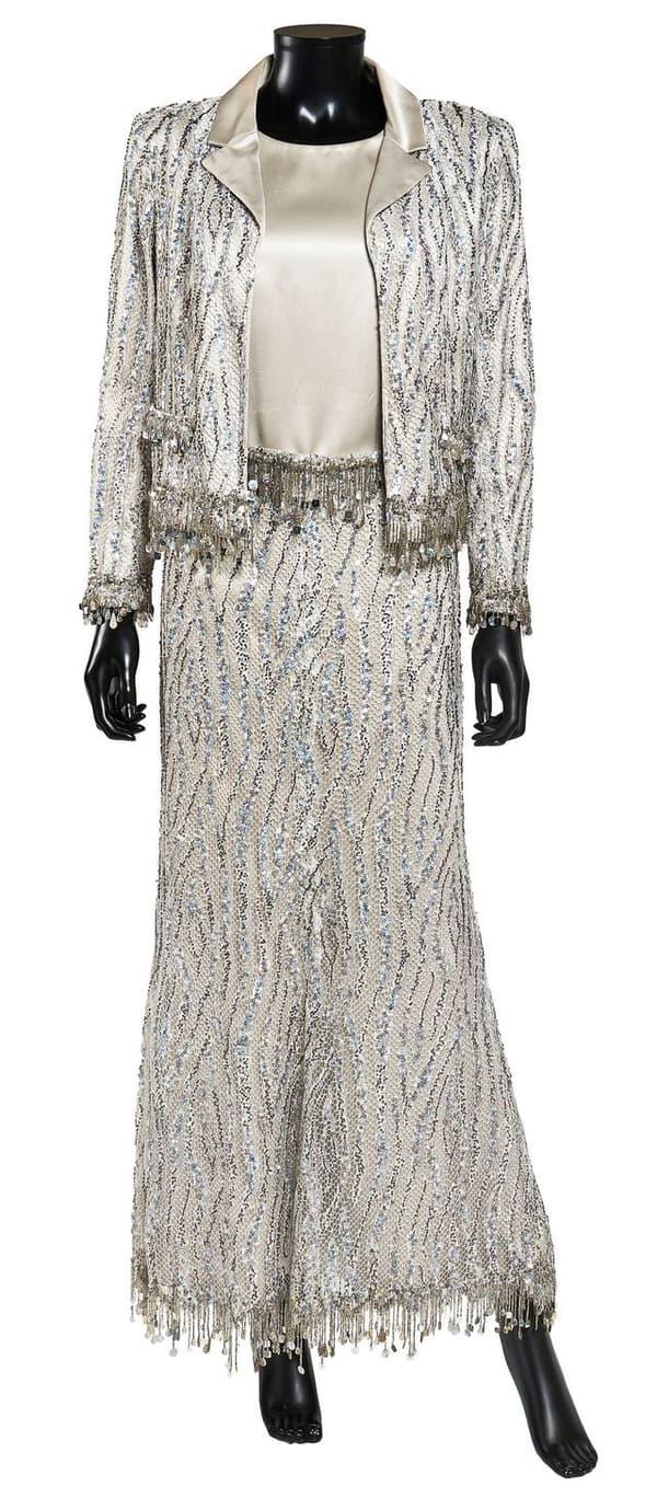 Un ensemble Chanel porté par Jeanne Moreau