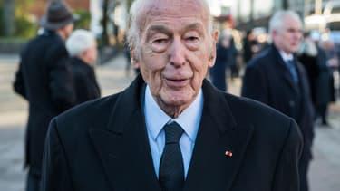Valéry Giscard d'Estaing, en novembre 2015.