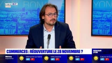 """Lyon: l'association """"My Presqu'île"""" veut une ouverture des commerces """"le plus rapidement possible"""""""