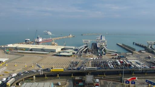 Le port anglais de Douvres pourrait ne plus accueillir les ferrys Eurotunnel prochainement.
