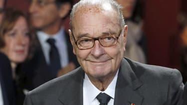 L'ex-président Jacques Chirac au musée du Quai Branly, le 21 novembre 2014