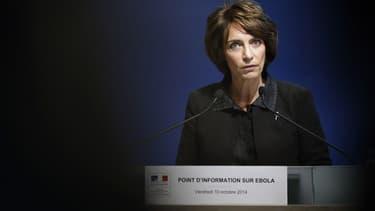 Marisol Touraine s'exprime ce vendredi 10 octobre après plusieurs cas suspects d'Ebola, en France, qui se sont tous révélés négatifs.