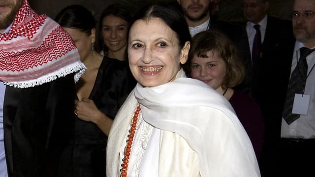 La danseuse italienne Carla Fracci