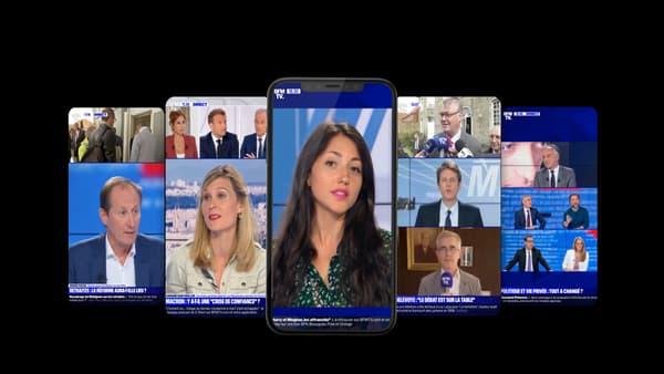 Le live vertical de BFMTV