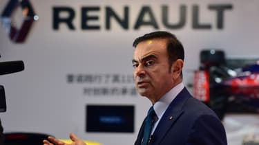 Carlos Ghosn, PDG de Renault, le 20 avril 2015.