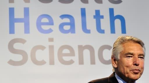 Peter Brabeck-Letmathe, le président de Nestlé, quittera le groupe en 2017.