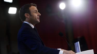 Emmanuel Macron à Amiens
