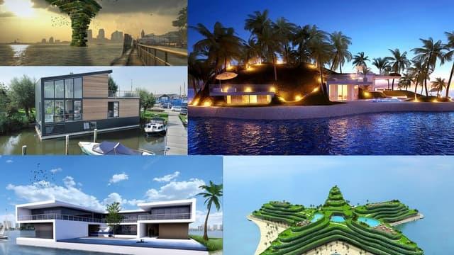 Les villes du futur flotteront-elles sur l'eau ?