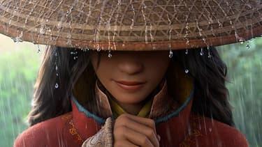 """Affiche de """"Raya et le dernier dragon"""", le nouveau Disney"""