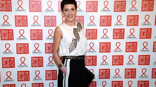 Cristina Cordula, le 23 janvier 2014