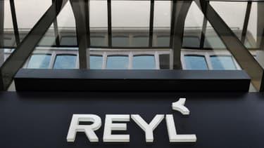 L'entrée de la banque suisse Reyl, à Genève.