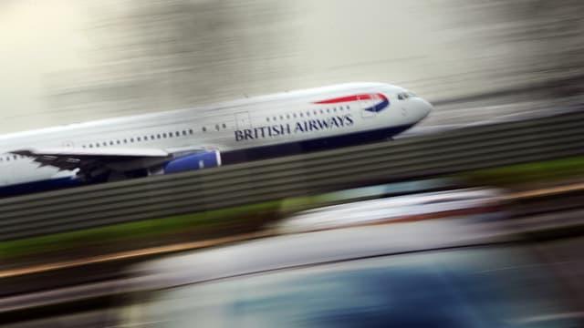 La compagnie British Airways n'a battu aucun record en janvier sur le trajet New York-Londres.