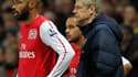 Thierry Henry et Arsène Wenger (Arsenal)
