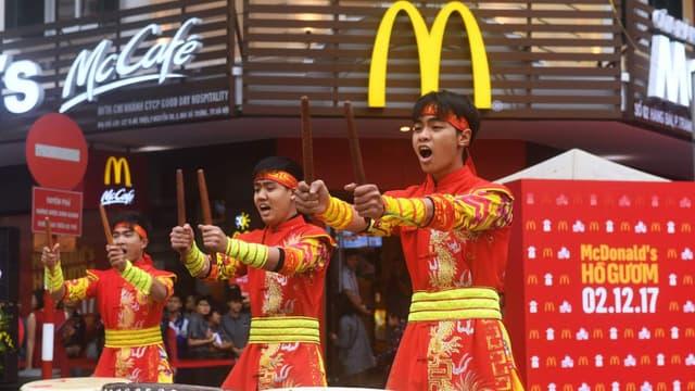 McDonald's possède déjà plusieurs restaurants implantés au Vietnam