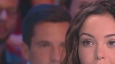 """Nabilla sur le plateau de """"Touche pas à mon poste""""! le 12 septembre 2016"""
