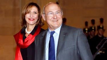 Michel Sapin et son épouse Valérie