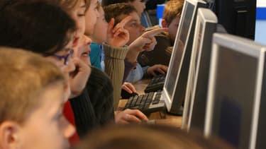 Qwant Junior a été lancé en partenariat avec le ministère de l'Education, qui met au point son plan numérique pour l'Ecole.