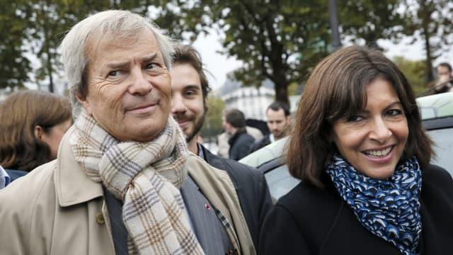 Vincent Bolloré et Anne Hidalgo vont présenter Utilib', une Autolib' en version utilitaire.