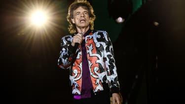 Mick Jagger sur scène à Marseille le 26 juin 2018