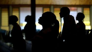 Des fidèles dans une église de Pretoria (image d'illustration)