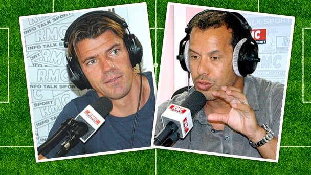 Grégory Coupet et Ali Benarbia