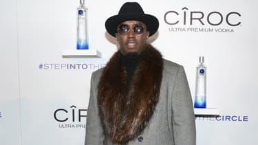 Le rappeur  Diddy à New York en novembre 2014.