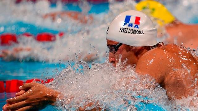 Giacomo Perez Dortona, champion du monde avec le relais 4x100m 4N
