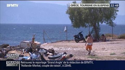 Grèce: le tourisme est-il victime de la crise?